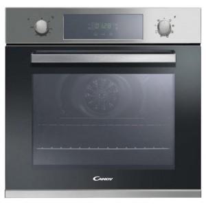 Духовой шкаф CANDY FCP605XL Встраиваемый (60*60*57, электр., независимая, сенсорное управл.,дисплей, 65 л, 8 режимов нагрева, гриль, конвекция, нерж./черный.)