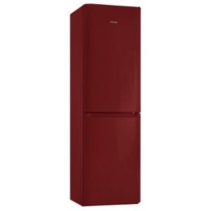 Pozis RK FNF-172 r рубиновый, ручки вертикальные (203*60*64,4 ящика,морозилка внизу,220/124л,рубиновый.)