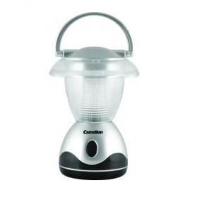 Фонарь Camelion LED 5210-3 (фонарь для кемпинга, пластик, серебро, 3 светодиода, 3xR6)