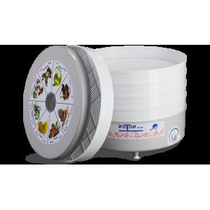 Сушилка для овощей и фруктов Ротор Дива СШ-007 с 5 прозрачными решетками (гофротара)