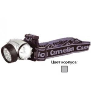 Фонарь Camelion LED 5313-19F4 (налобный, 19LED, 4 режима, 3хAAA в комплекте, бли