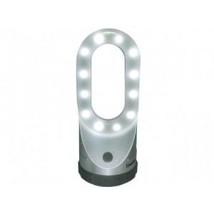 Фонарь Camelion LED 62441 свет-ник для кемпинга, 24LED,4XLR03 сереб.,магнит, подсвет,пласт.(уп.12)