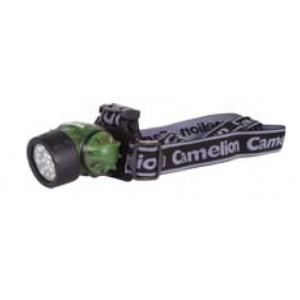 Фонарь Camelion LED 5313-19F4ML (фонарь налобный камуфляж, 19LED, 4 режима, 3хAAA в комплекте, бли