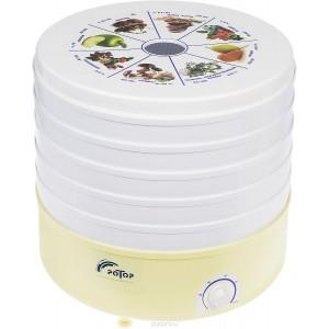Сушилка для овощей и фруктов Ротор СШ-002 -06 с 5 прозрачными решетками (гофротара)