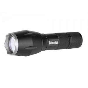 Фонарь Camelion LED 5136 черный, LED XML-T6, ZOOM, 5реж., 3xLR03 в комплекте, алюм, блистер