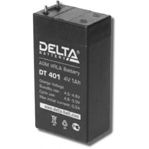 Аккумулятор DT401 DELTA 4V 1,0Ah для фонарей ТРОФИ