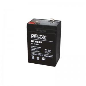 Аккумулятор DT6045 DELTA 6V 4,5Ah для прожекторов,карт