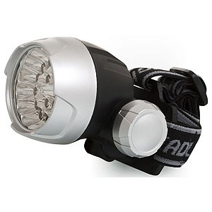 Фонарь ERA G25 (3xR3) Головной, 25 светодиодов, водонепр.,пластик, бл.