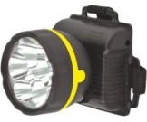 Фонарь Ultra Flash 909LED5 (фонарь налобный черный,5LED,1реж,3ХR6,пласт, коробка)