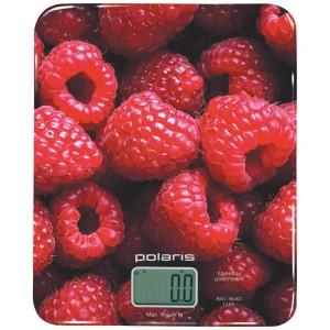 Весы кухонные Polaris PKS0832DG,Малиновый