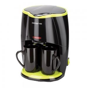 Кофеварка Polaris PCM 0210 Черный/салат.
