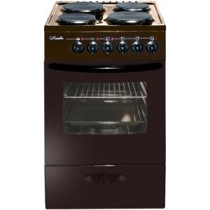Плита электрическая Лысьва 402 МС б/кр, коричневая